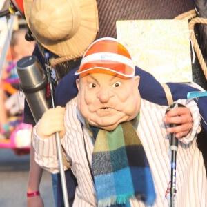 ANWB Echtpaar straattheater act